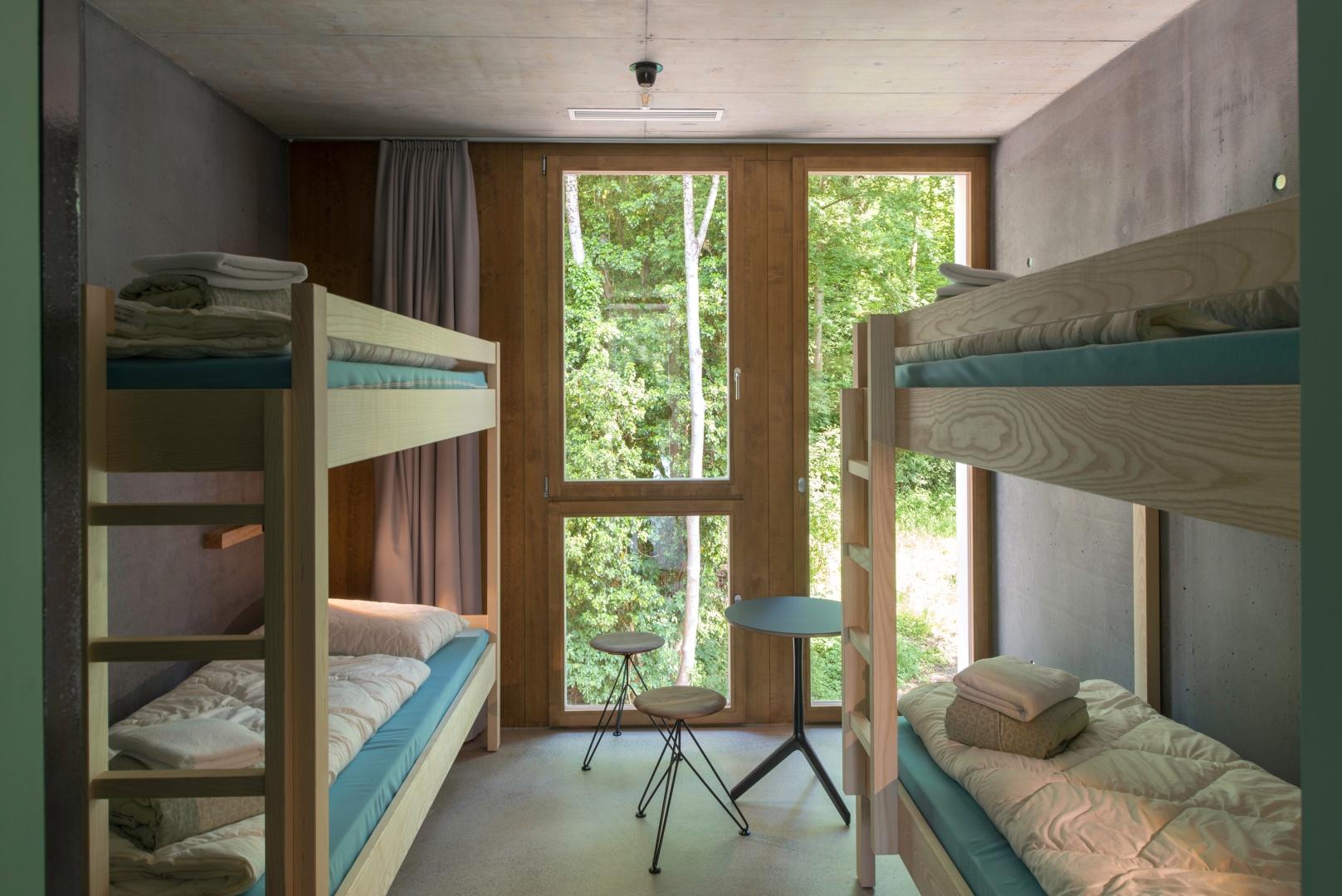 Vierer-Zimmer im Neubau © Adrian Scheidegger