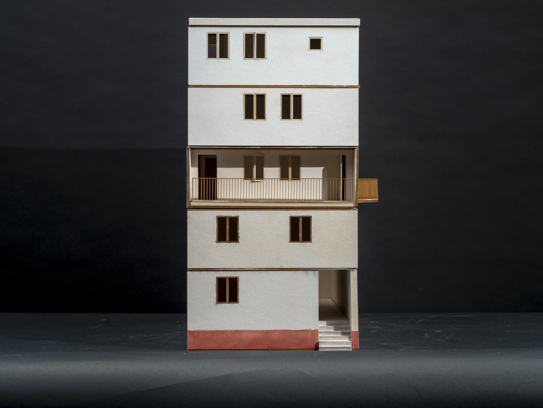 Frontansicht Villas Apiladas © Quirin Koch