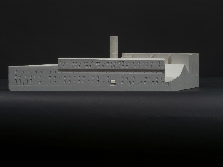 Nordfassade Gipsmodell © Quirin Koch