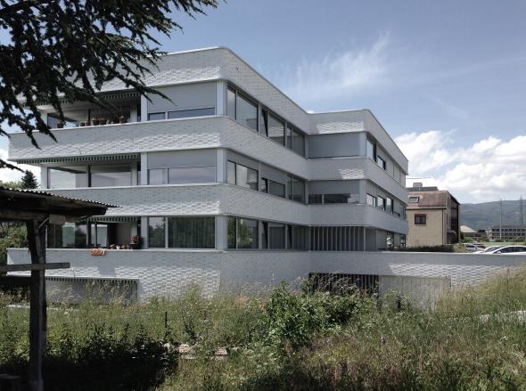 Immeuble de logements à nyon schweizer baudokumentation