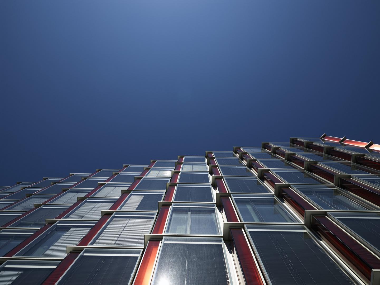 Détail façade 1 © Fabio Fossati - Architectes SA