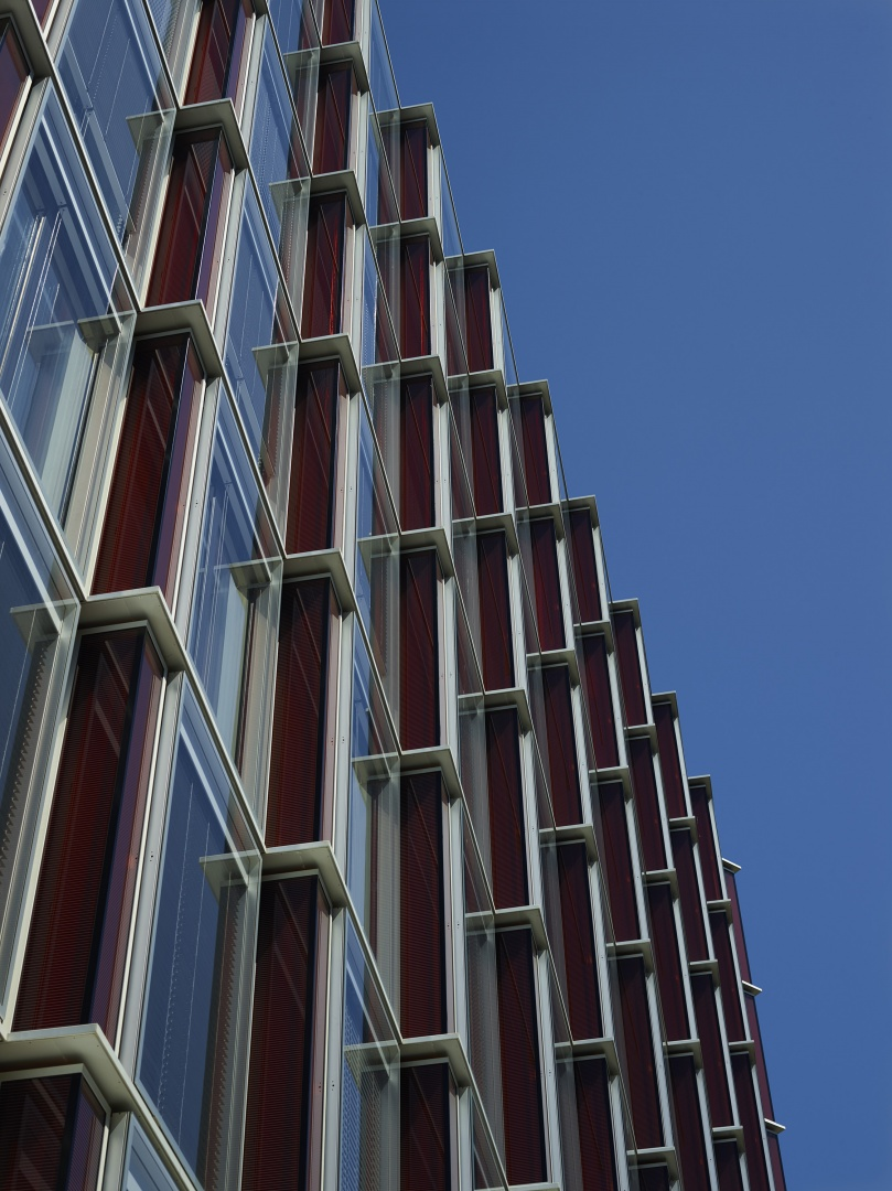 Detail façade 2 © Fabio Fossati - Architectes SA