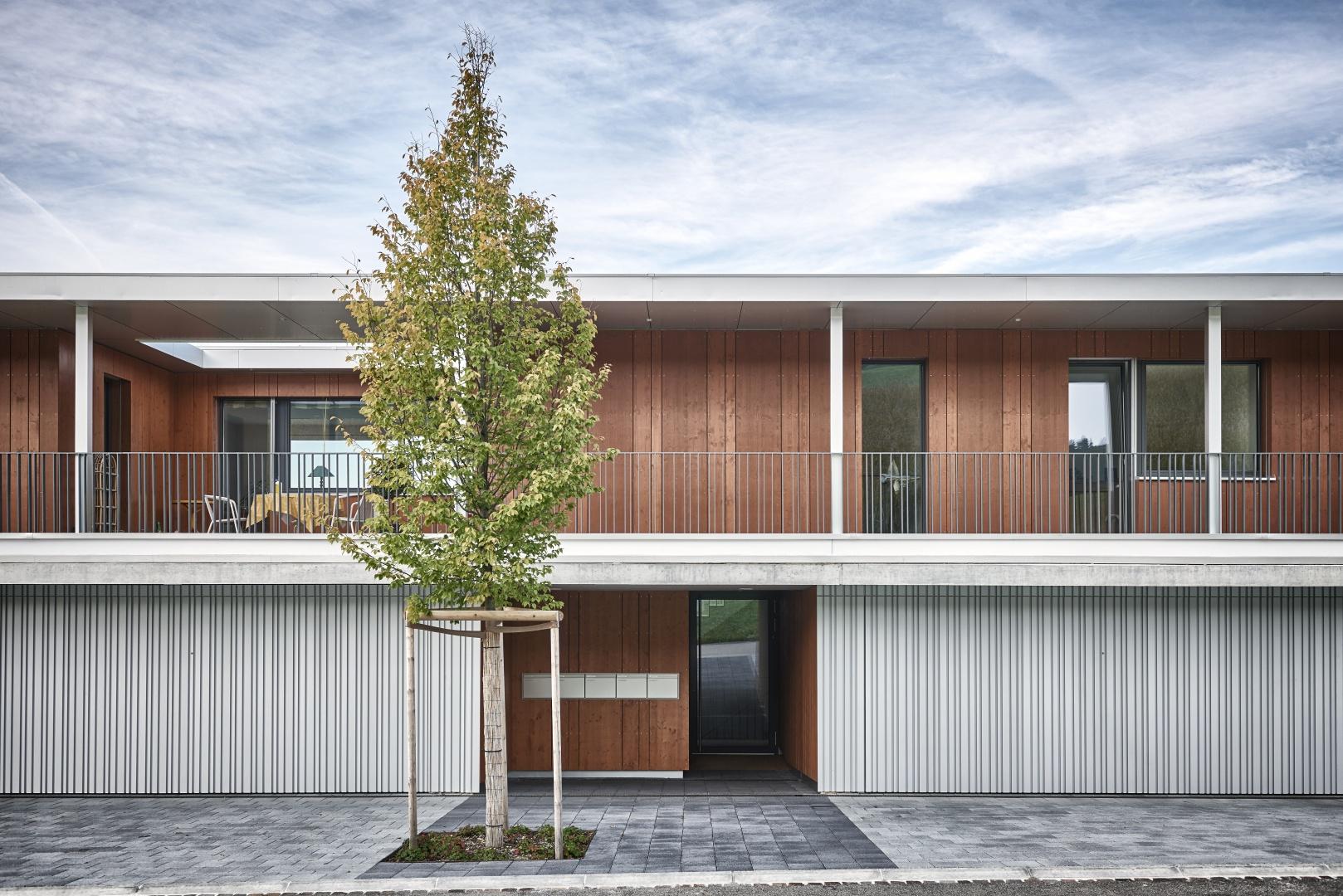 Aussenansicht_Eingang © Hunziker Architekten AG