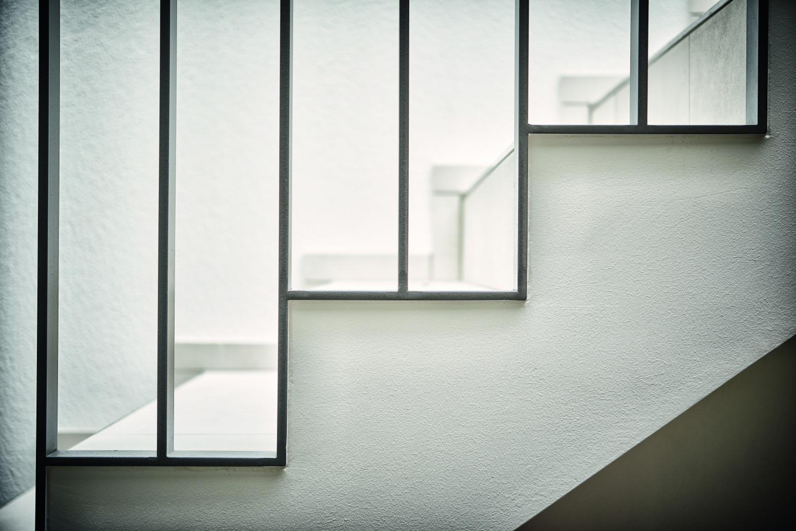 Innenansicht_Treppengeländer © Hunziker Architekten AG