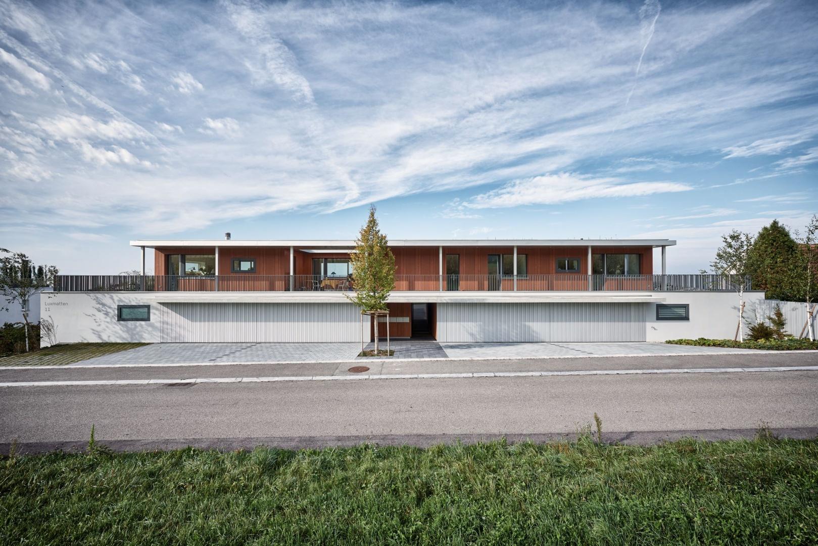 Aussenansicht_Nordostfassade © Hunziker Architekten AG