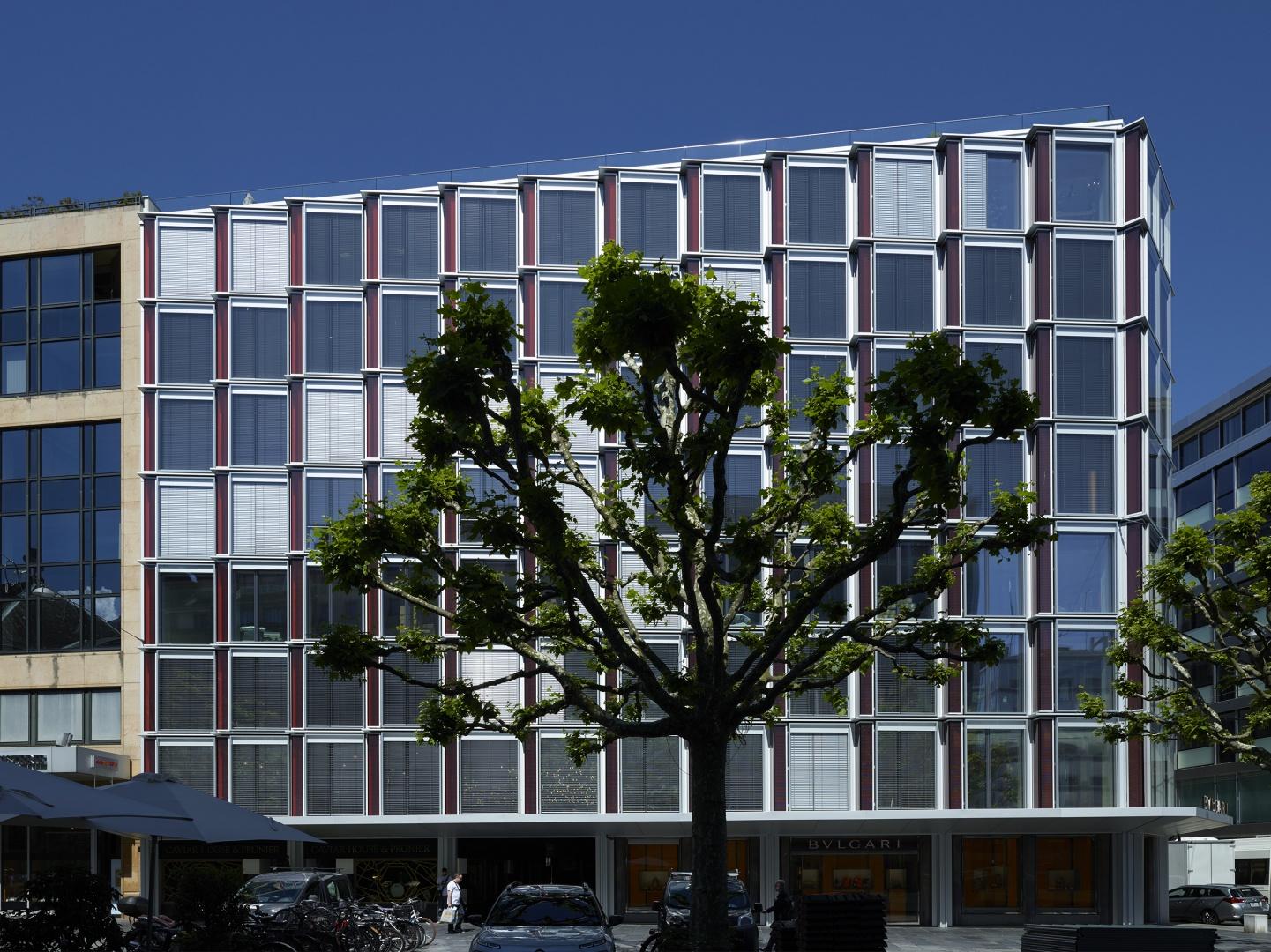 Detail façade 3 © Fabio Fossati - Architectes SA