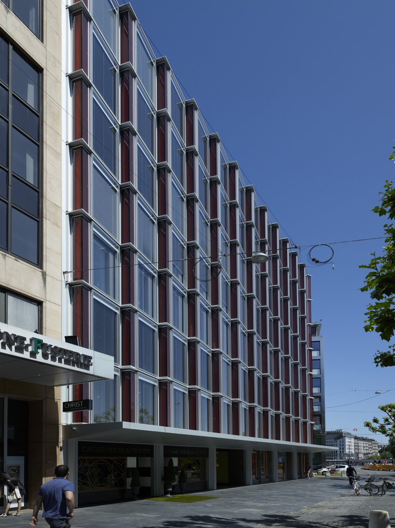 Detail façade 4 © Fabio Fossati - Architectes SA