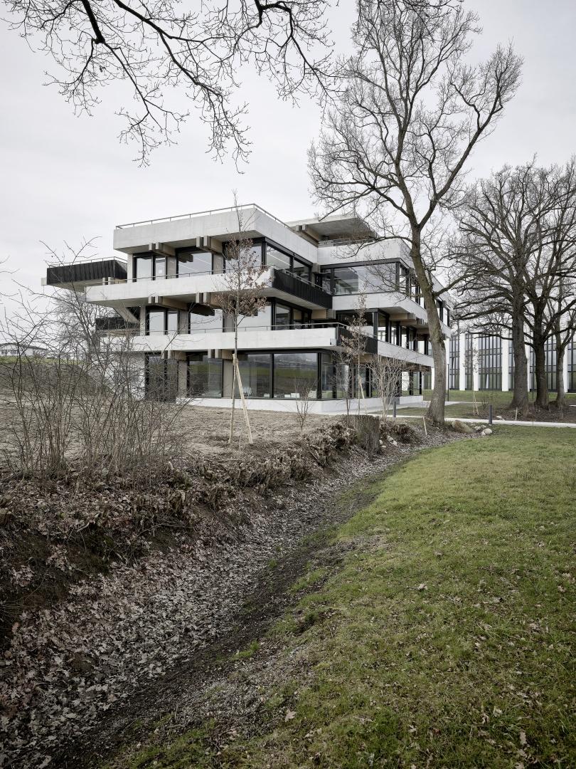 Typologie orientiert sich am Geländeverlauf der Landschaft © Kuster Frey, Horw 2017