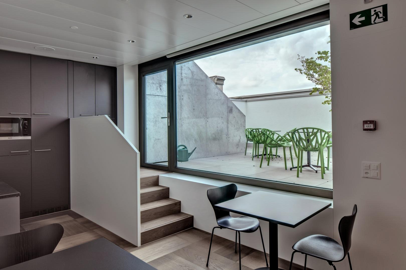Mitarbeiterbereich - Pausenraum © René Dürr Architekturfotografie, Schwandenstrasse 228, 8046 Zürich