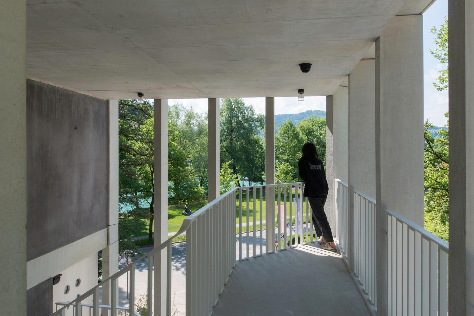 Erschliessung Neubau © Adrian Scheidegger