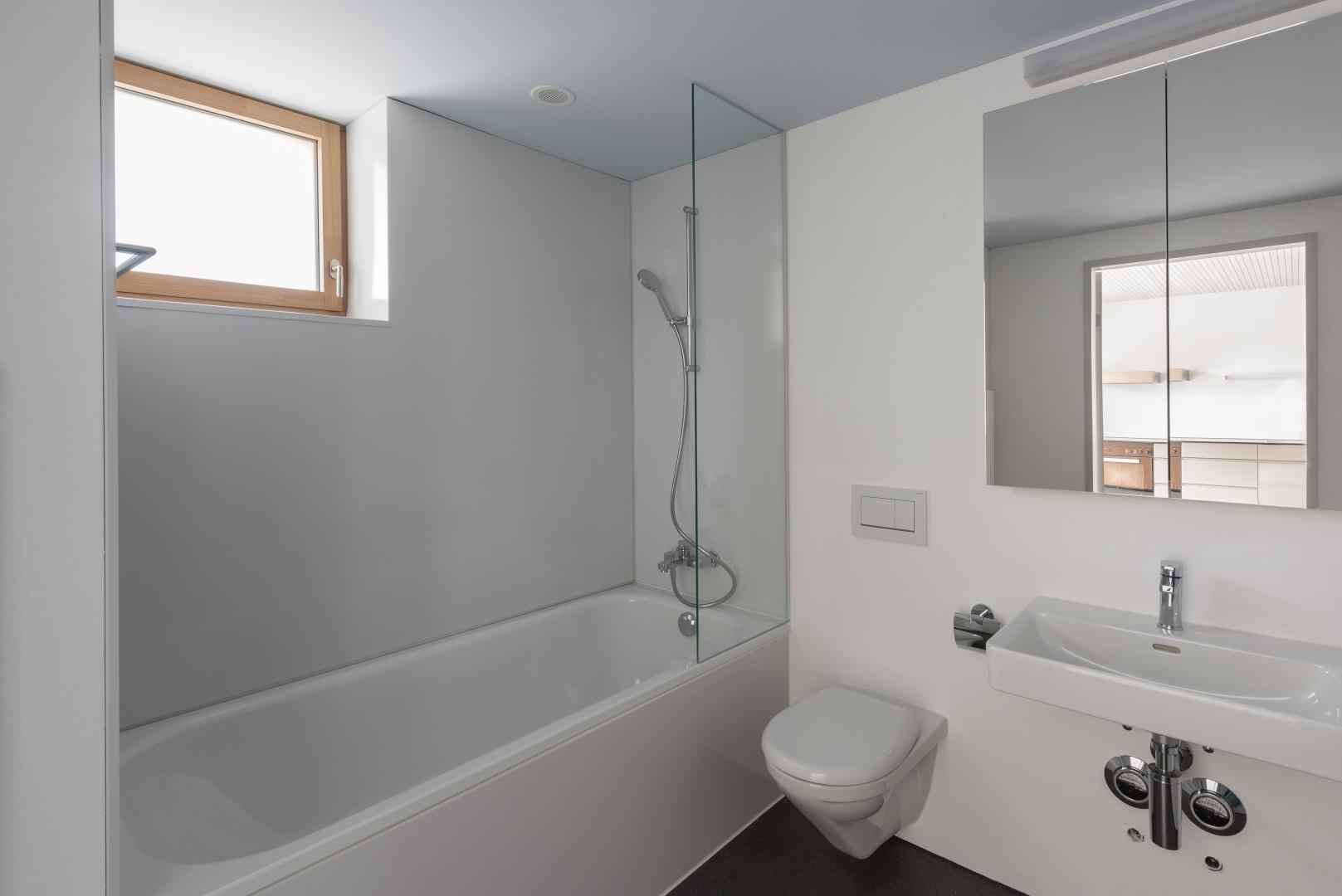 Badezimmer © Christine Blaser, Bildaufbau, Sandrainstrasse 3 3007 Bern