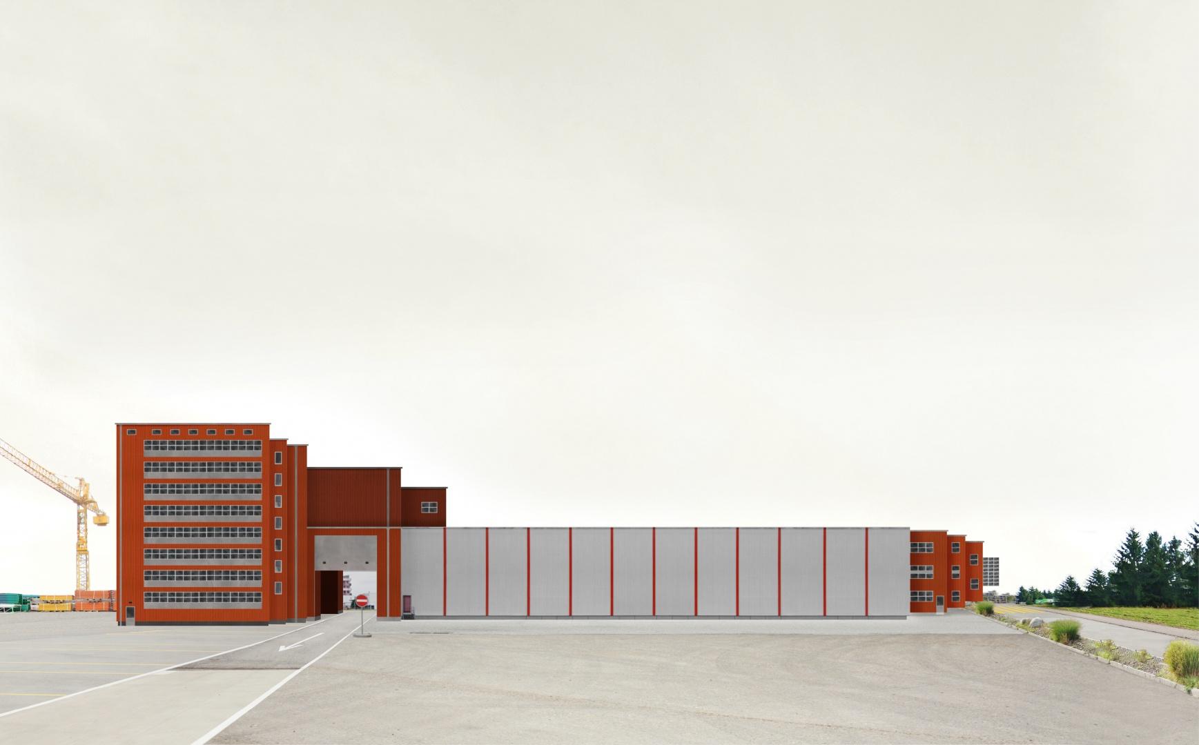 Red Stripes Building © Eva Lanter