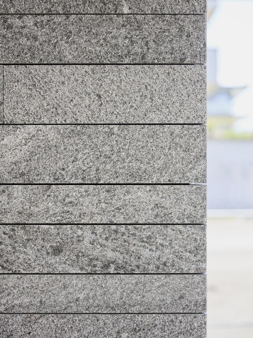 Detail Fassade Naturein-Onsernone © Ferit Kuyas