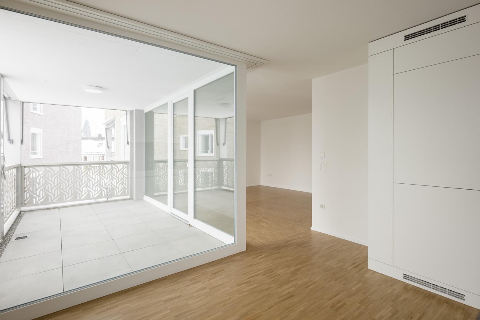 Mehrfachausrichtung der Wohnungen © Stephan Bösch, St. Gallen 2017