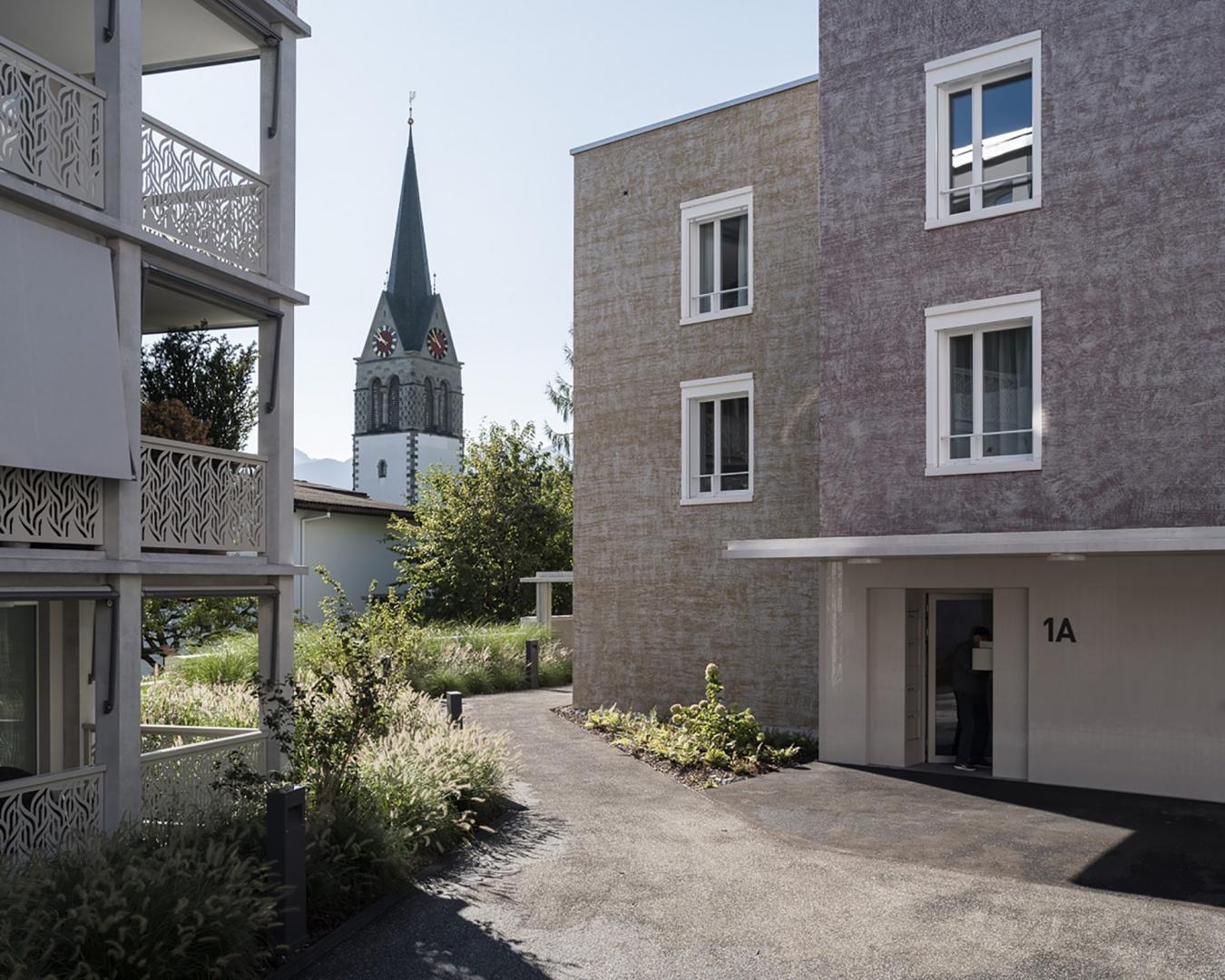 Erweiterung des Dorfzentrums © Stephan Bösch, St. Gallen 2017