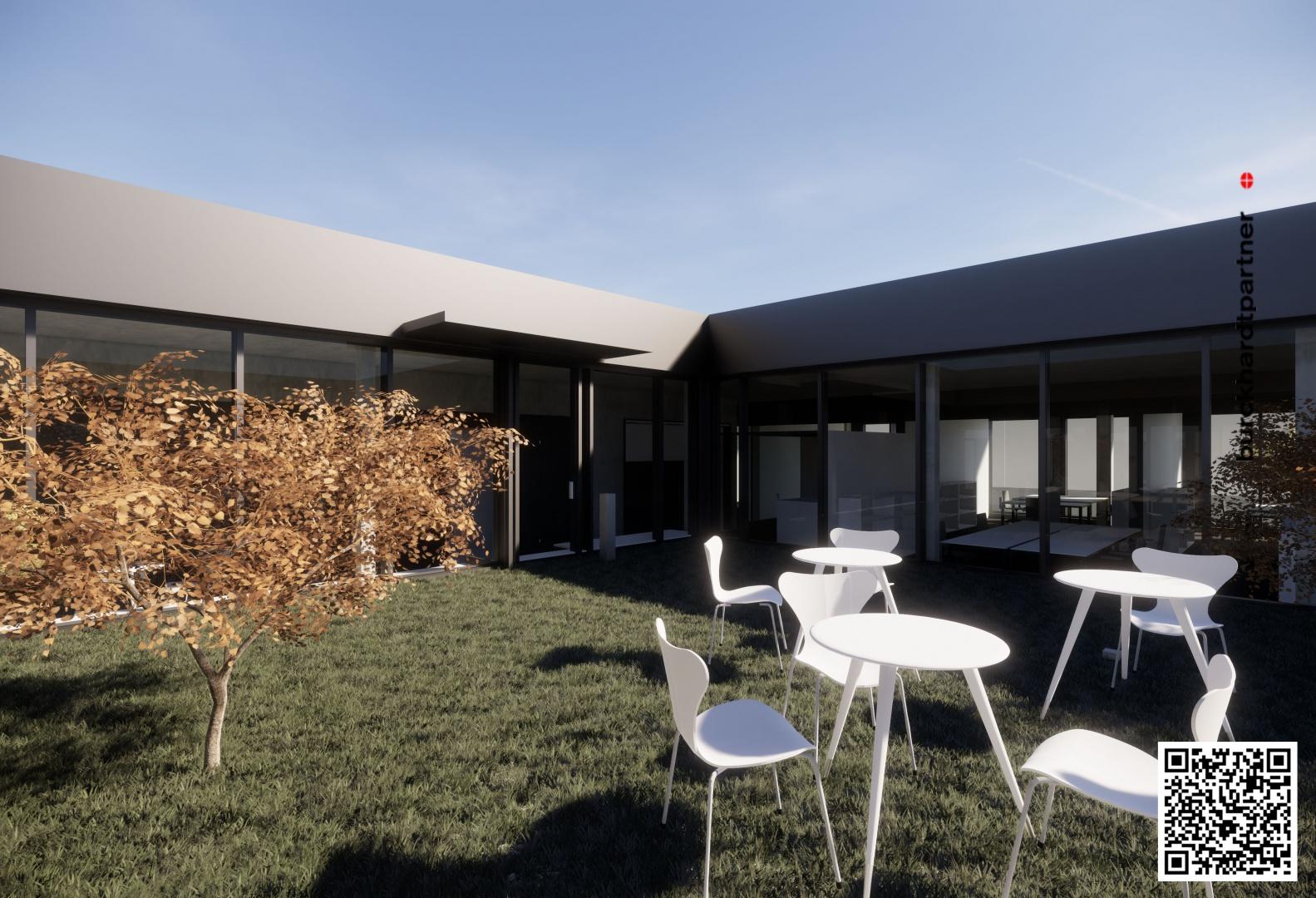 Borer Chemie - Innenhof © Burckhardt+Partner AG