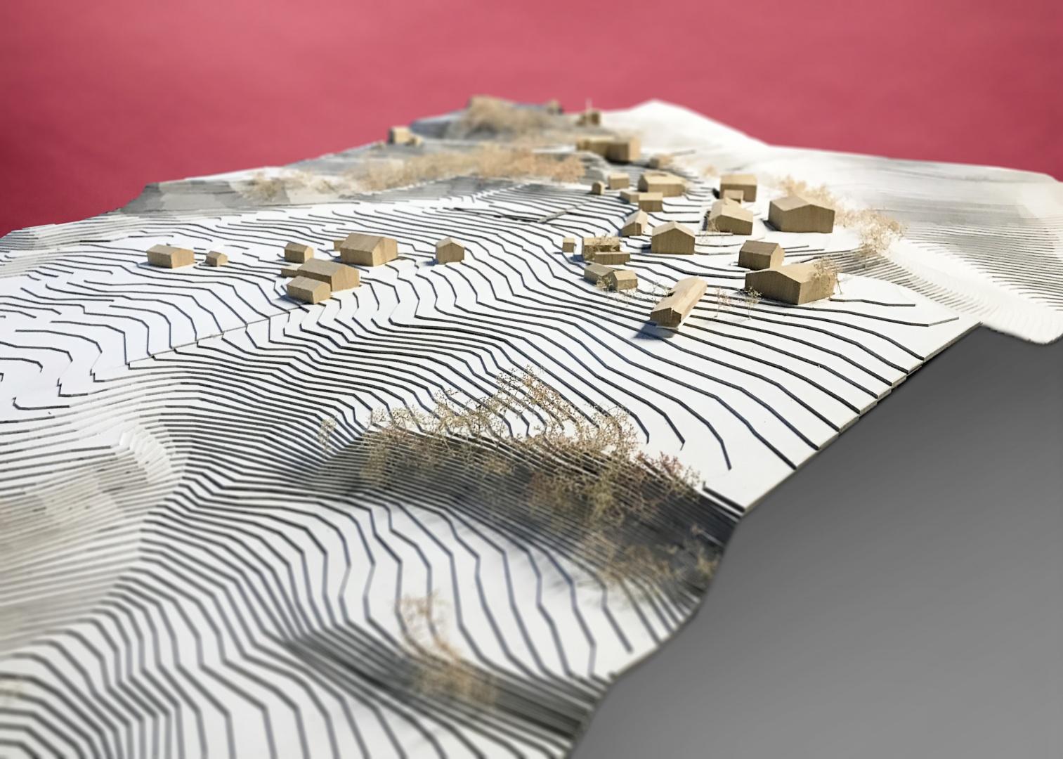 Umgebungsmodell (1:200)  © Timo J. Walker