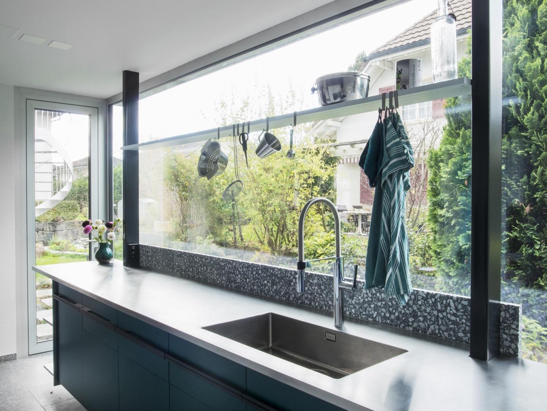 Küchentheke zur Gartentreppe © © DU STUDIO, Zürich