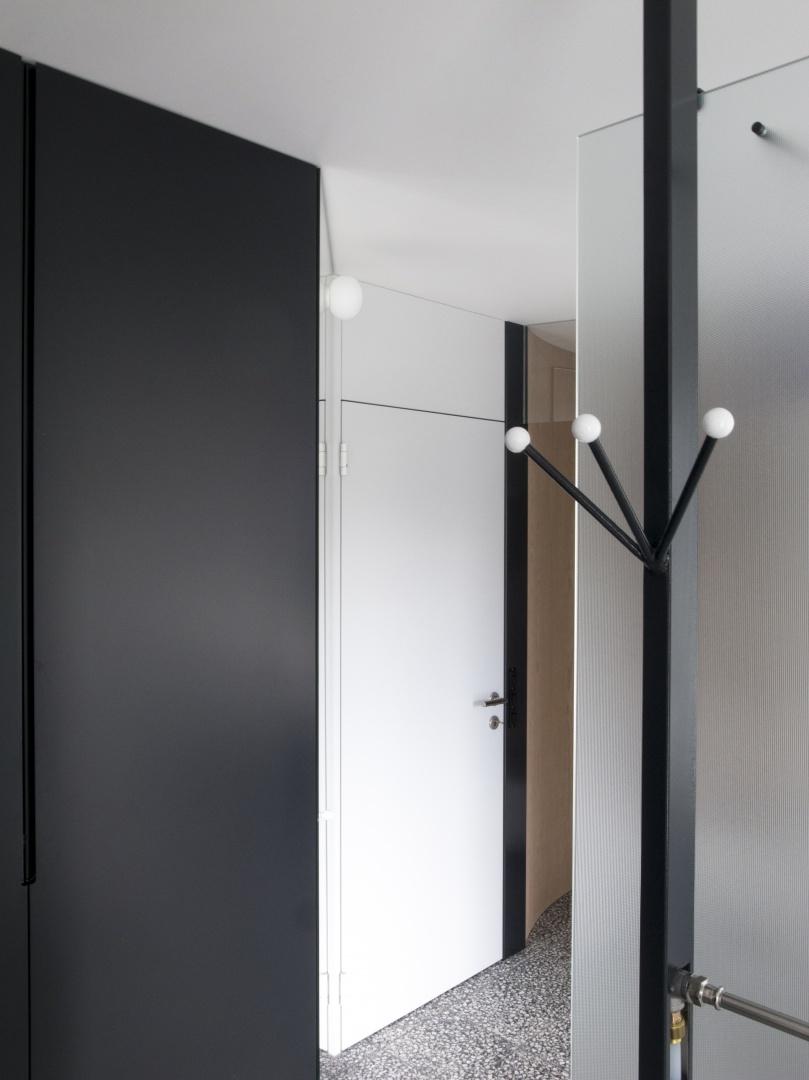 Türknoten im Schlaf- & Badezimmer © © DU STUDIO, Zürich