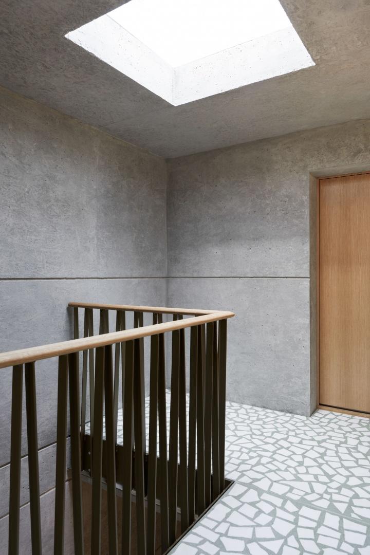 Treppenhaus Attikageschoss © Roman Pulvermüller