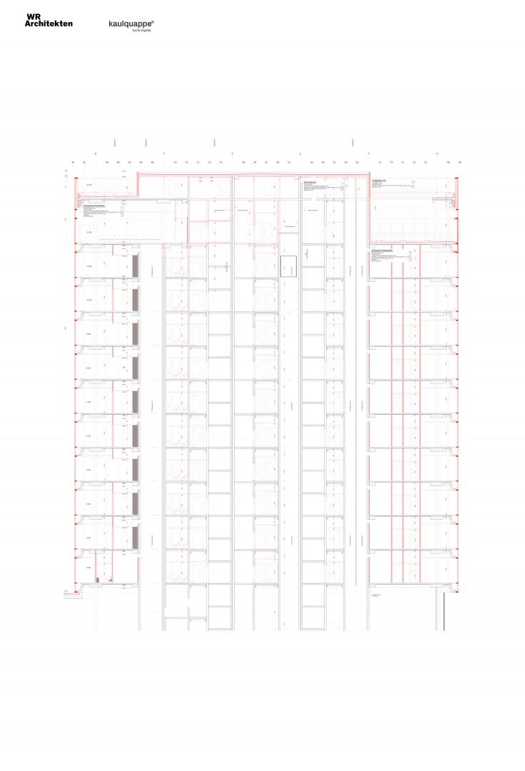 Schnitt © WR Architekten AG