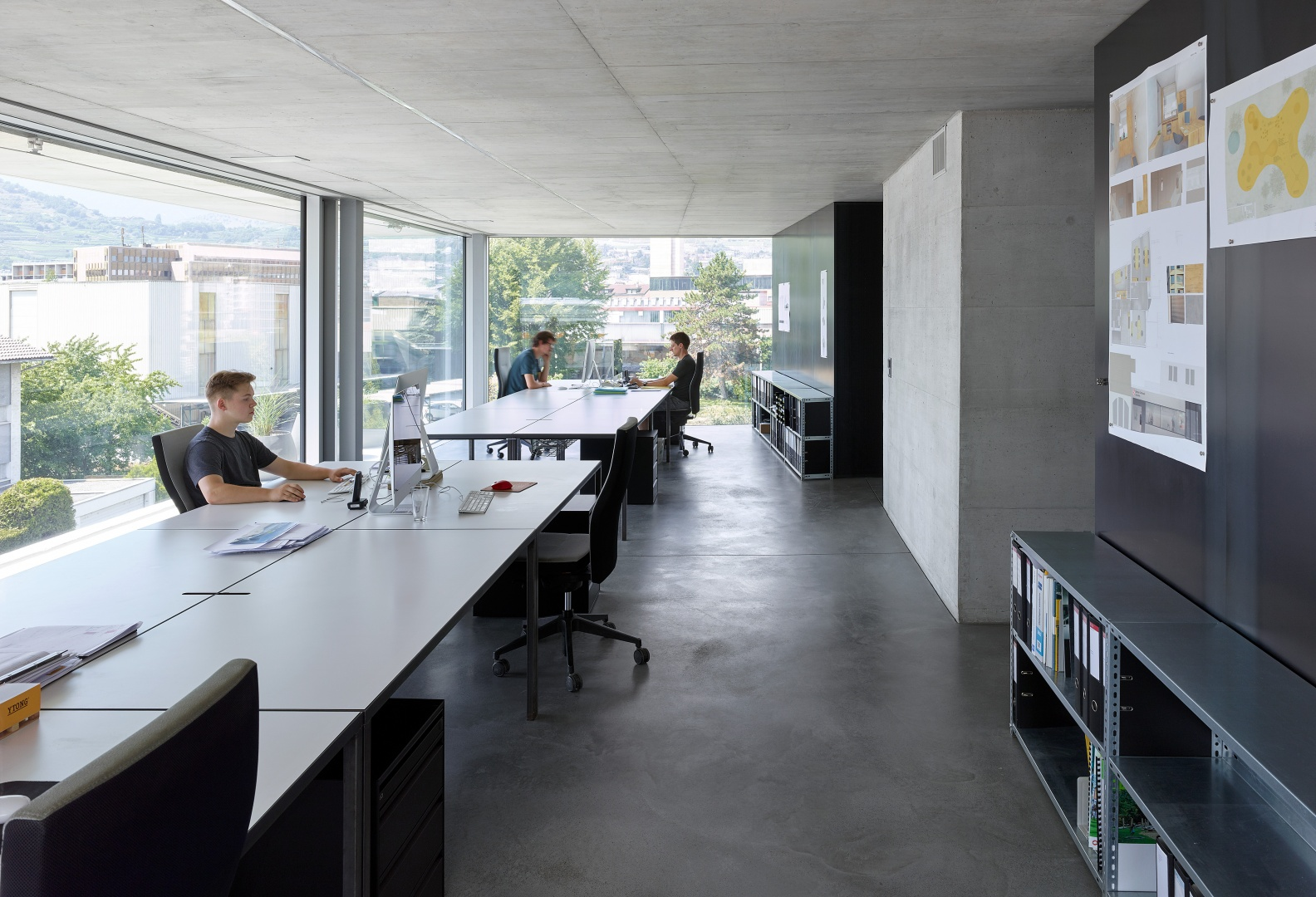 immeuble ronquos 35 savioz fabrizzi open space © thomas jantscher