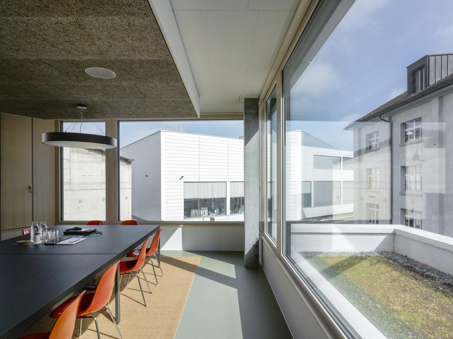 Sitzungszimmer Architekturbüro © Johannes Marburg, Genf