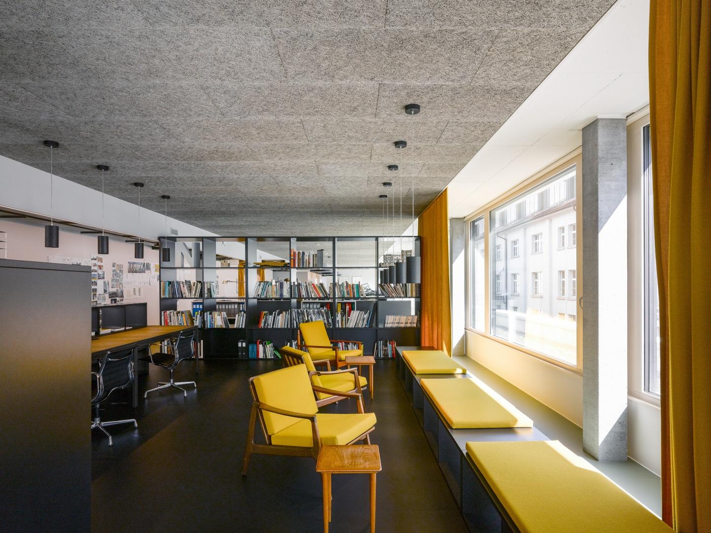 Loungebereich Architekturbüro © Johannes Marburg, Genf