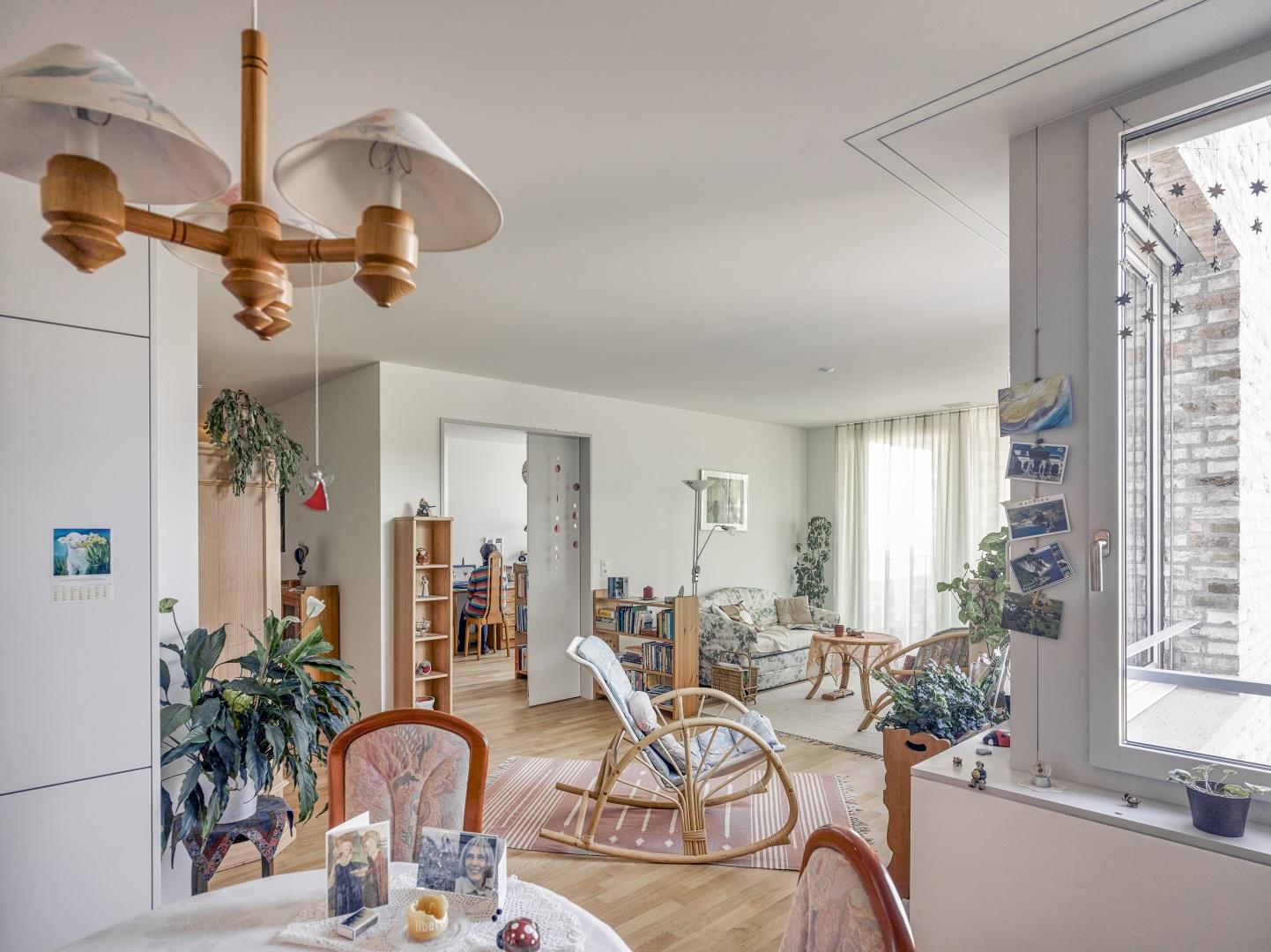 Wohnung Haus A möbliert © Johannes Marburg