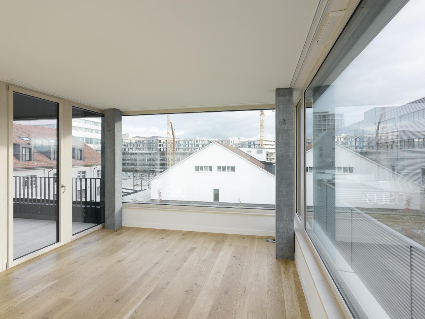 Grosszügige Wohnräume © Johannes Marburg, Genf