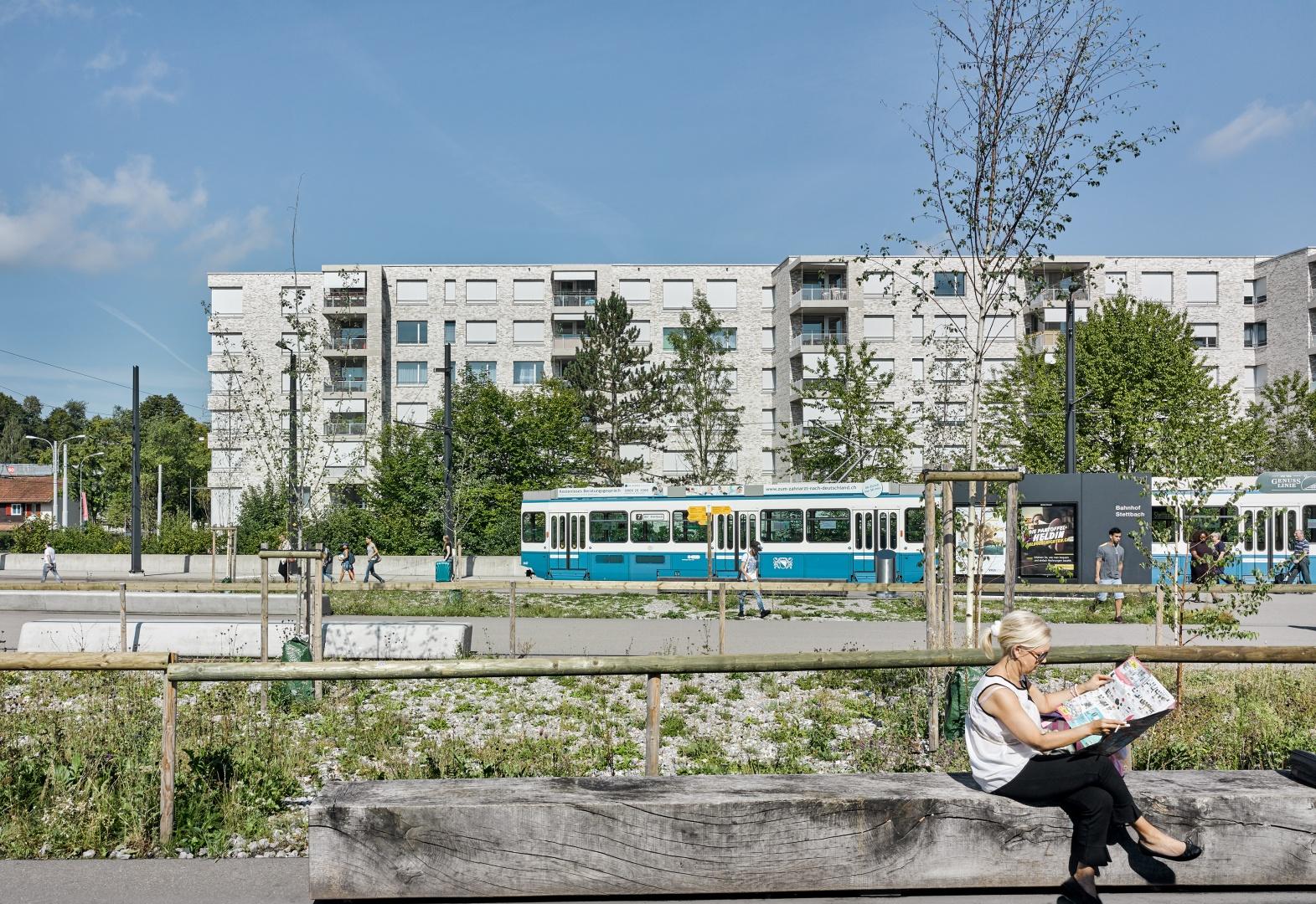 Blick von S-Bahn-Station © Johannes Marburg