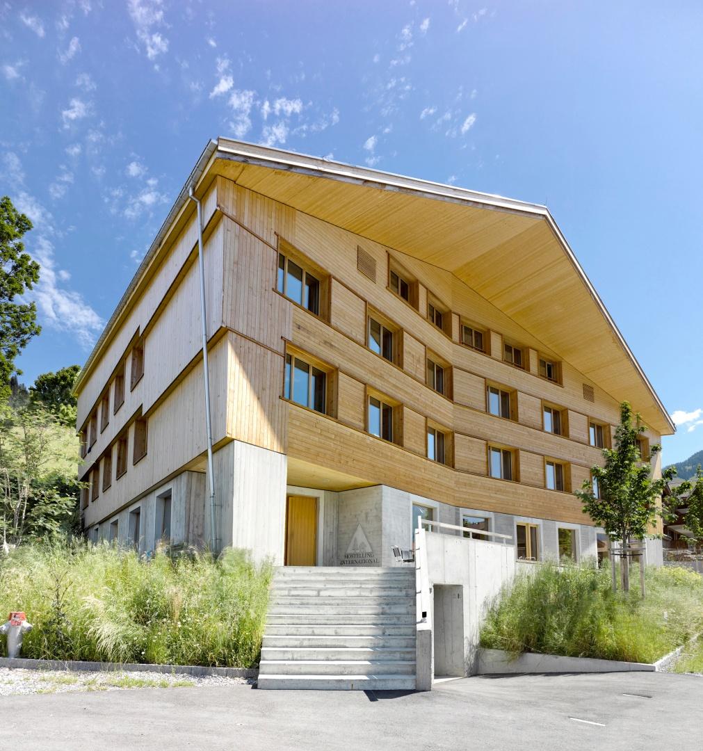 Jugendherberge Gstaad-Saanenland © Alexander Gempeler, Bern