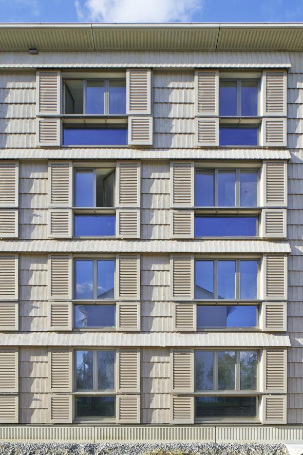 Konstruktives Fügen - Tektonik der Fassade © Jürg Zimmermann