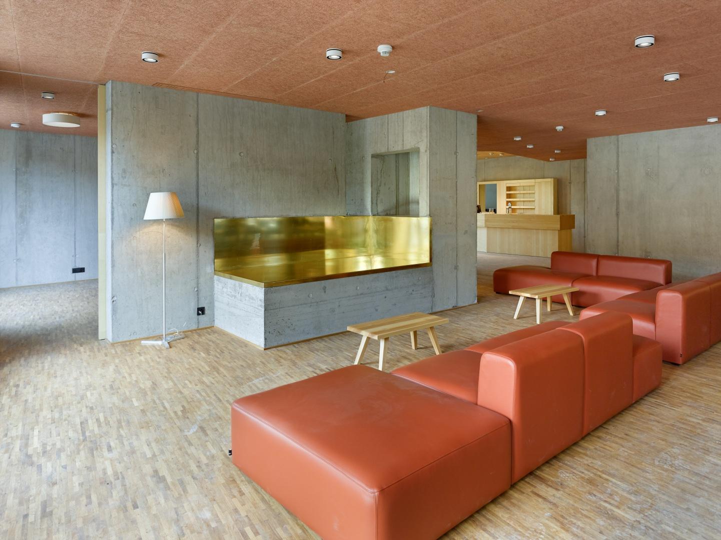 Aufenthaltsbereich / Ofen © Alexander Gempeler, Bern