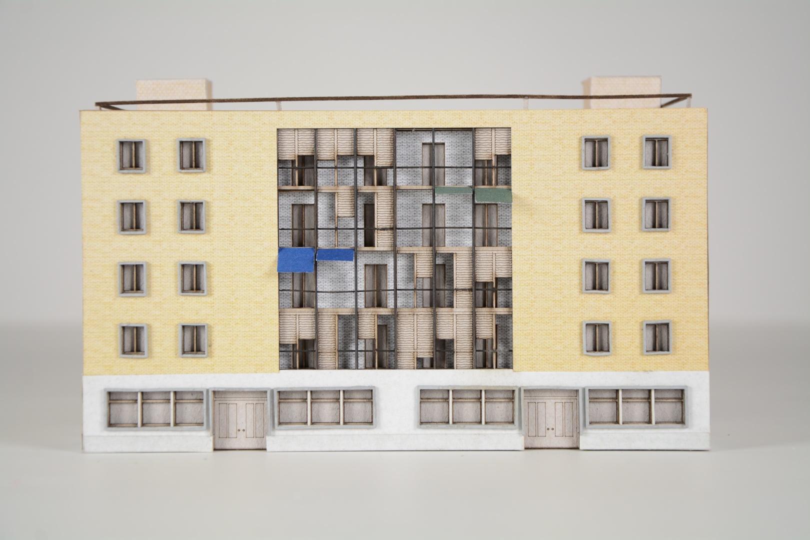 Fassadenmodell Bau Nord © Craveiro / Zahler