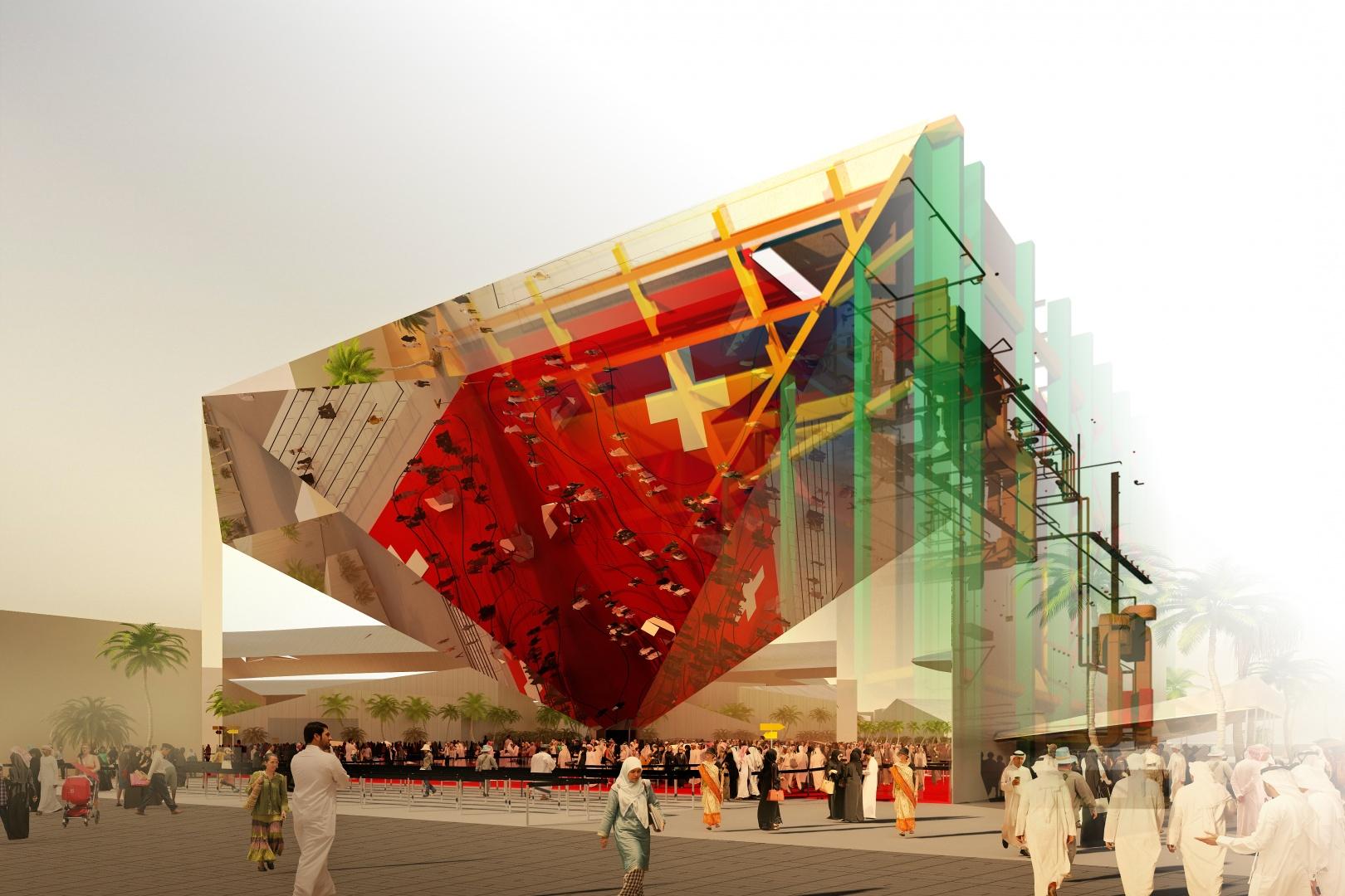 Schweizer Pavillon EXPO 2020 Dubai © OOS AG