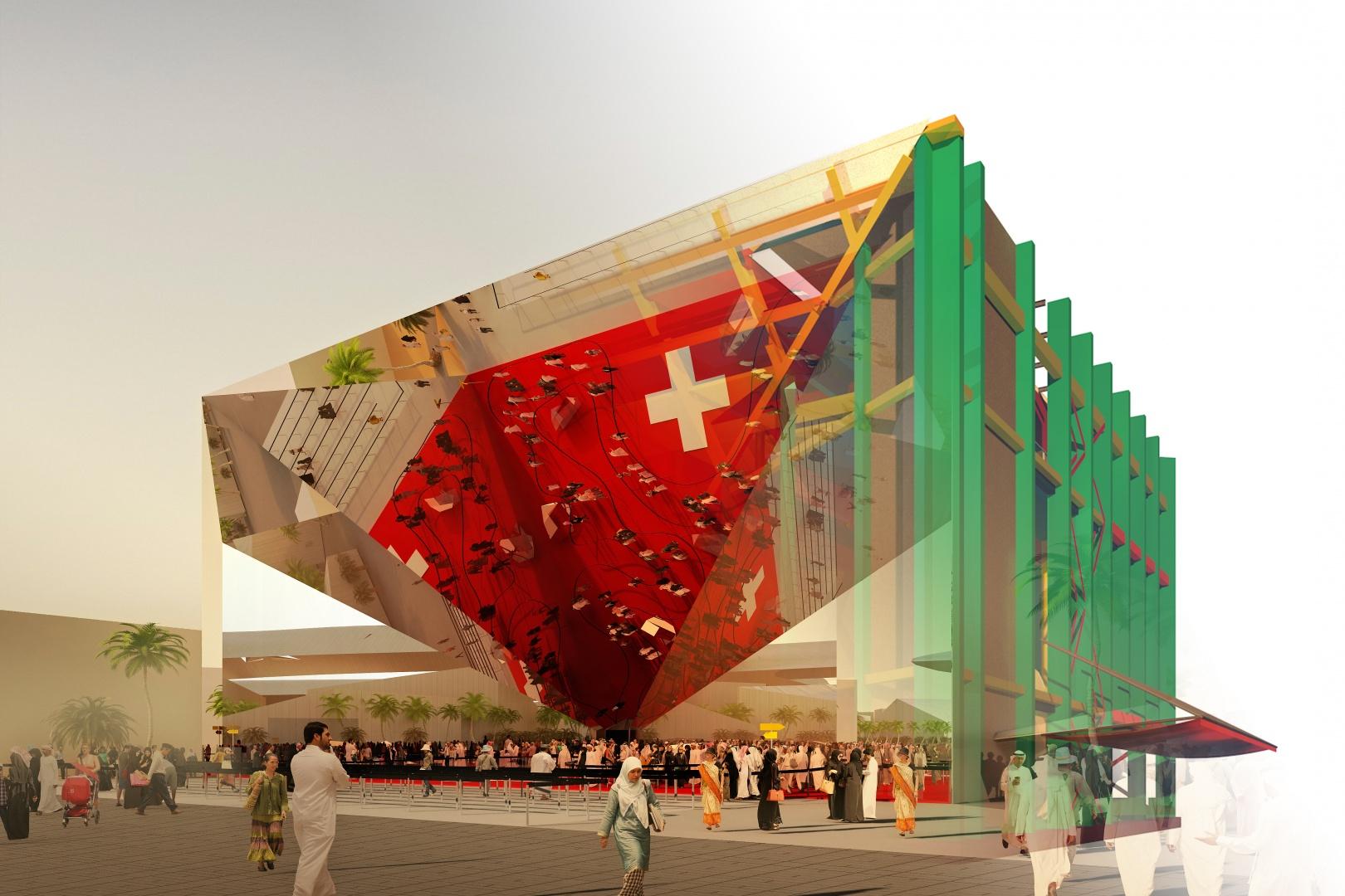 Architektur und Tragwerksmodell © OOS AG
