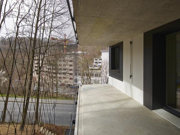 terrasse sur le bois  © Michel Bonvin