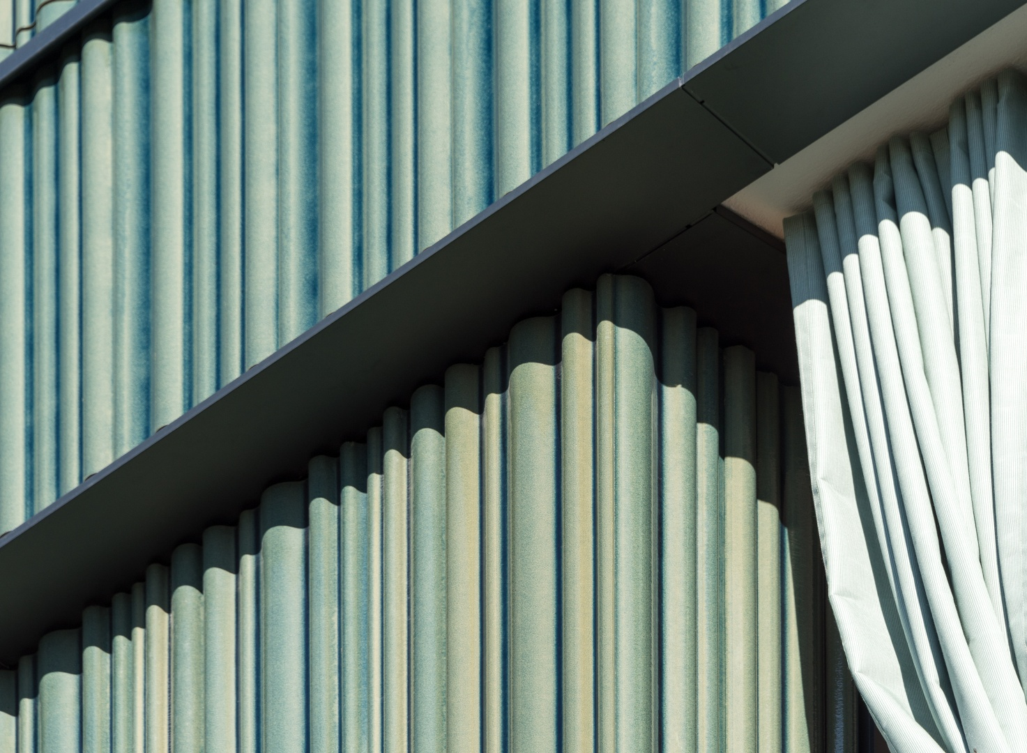 Keramikfassade © Johannes Marburg