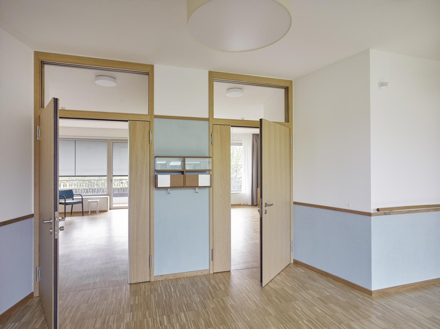 Adressierte Bewohnerzimmer © Johannes Marburg