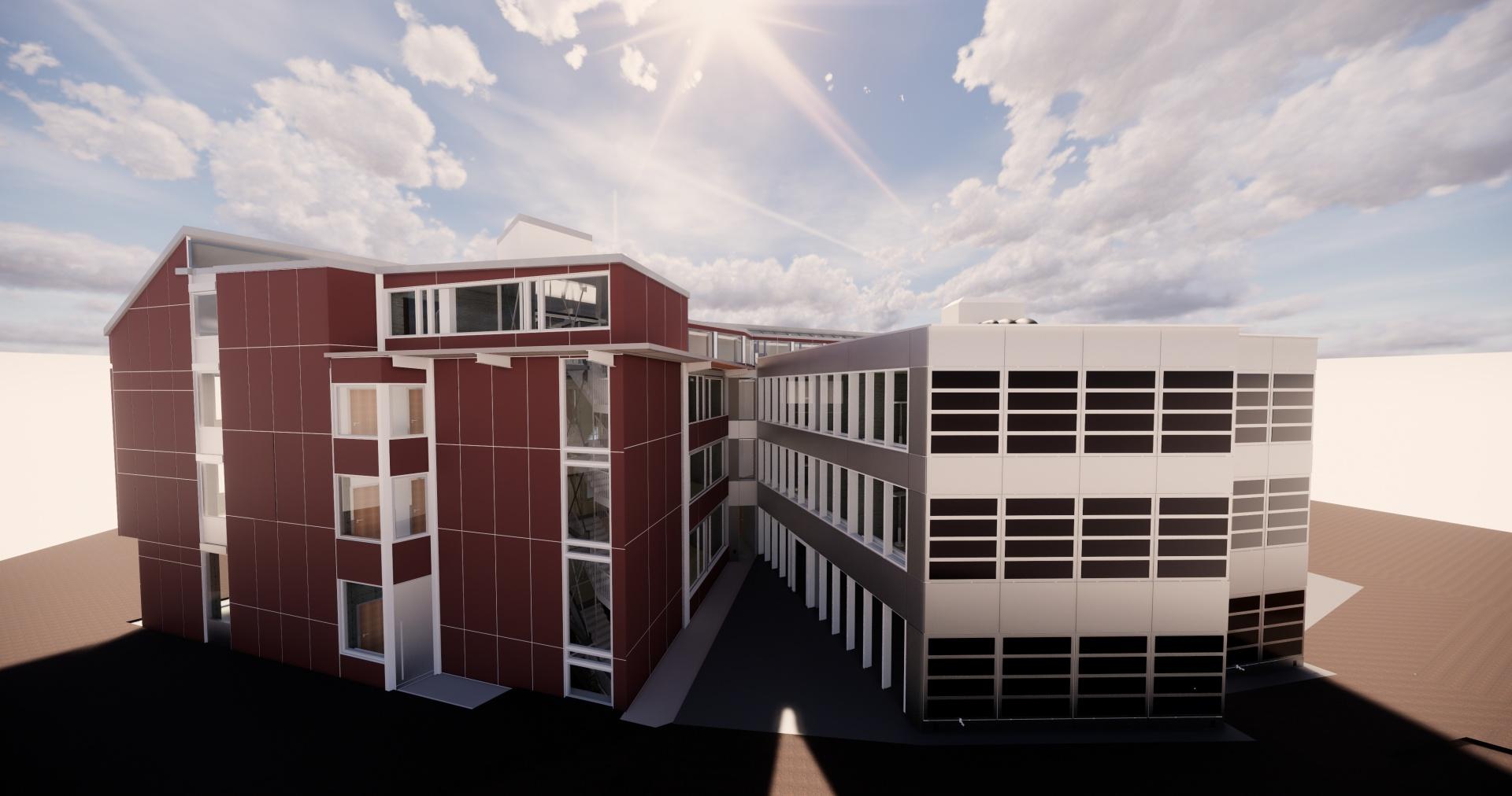 Ansicht Architektur © Basler & Hofmann AG