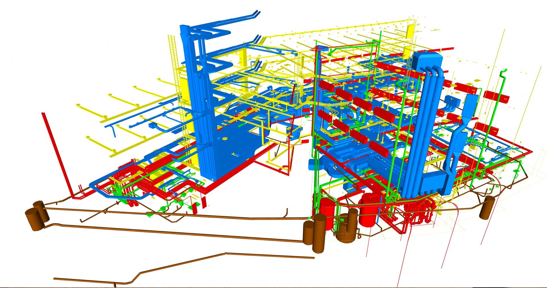 Gebäudetechnik Koordination © Basler & Hofmann AG