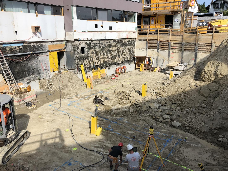 Baustelle ohne Pläne © Basler & Hofmann AG