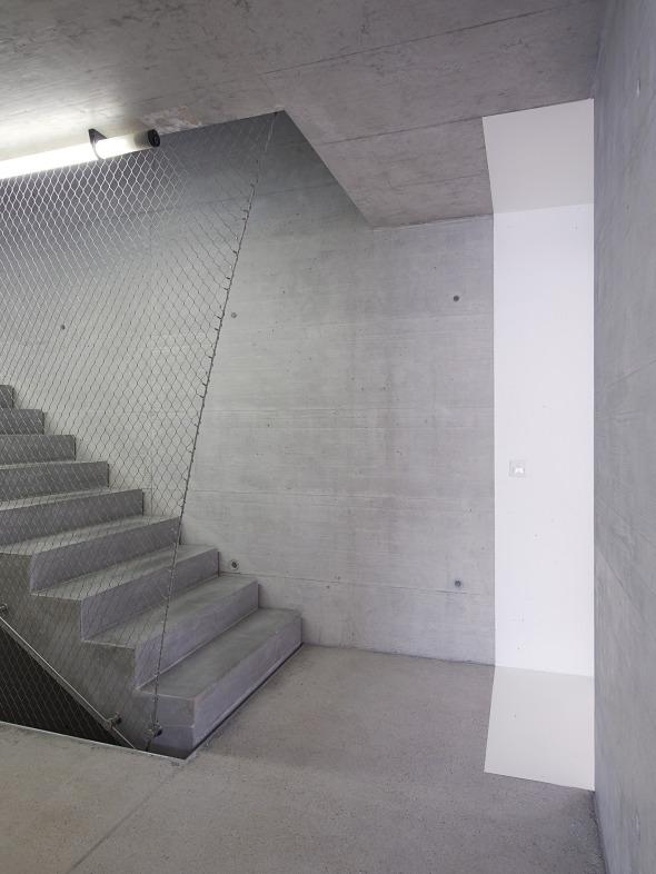cage d'escalier  © Michel Bonvin