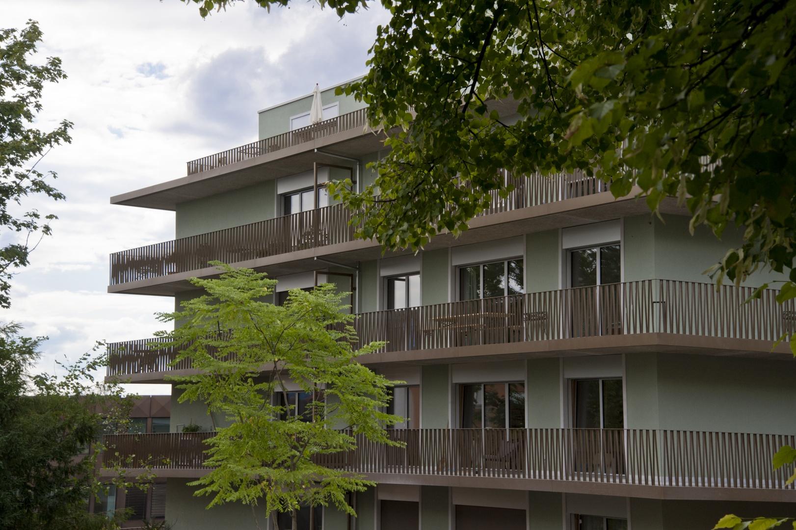 Aussenansicht Osten © Juho Nyberg Architektur GmbH