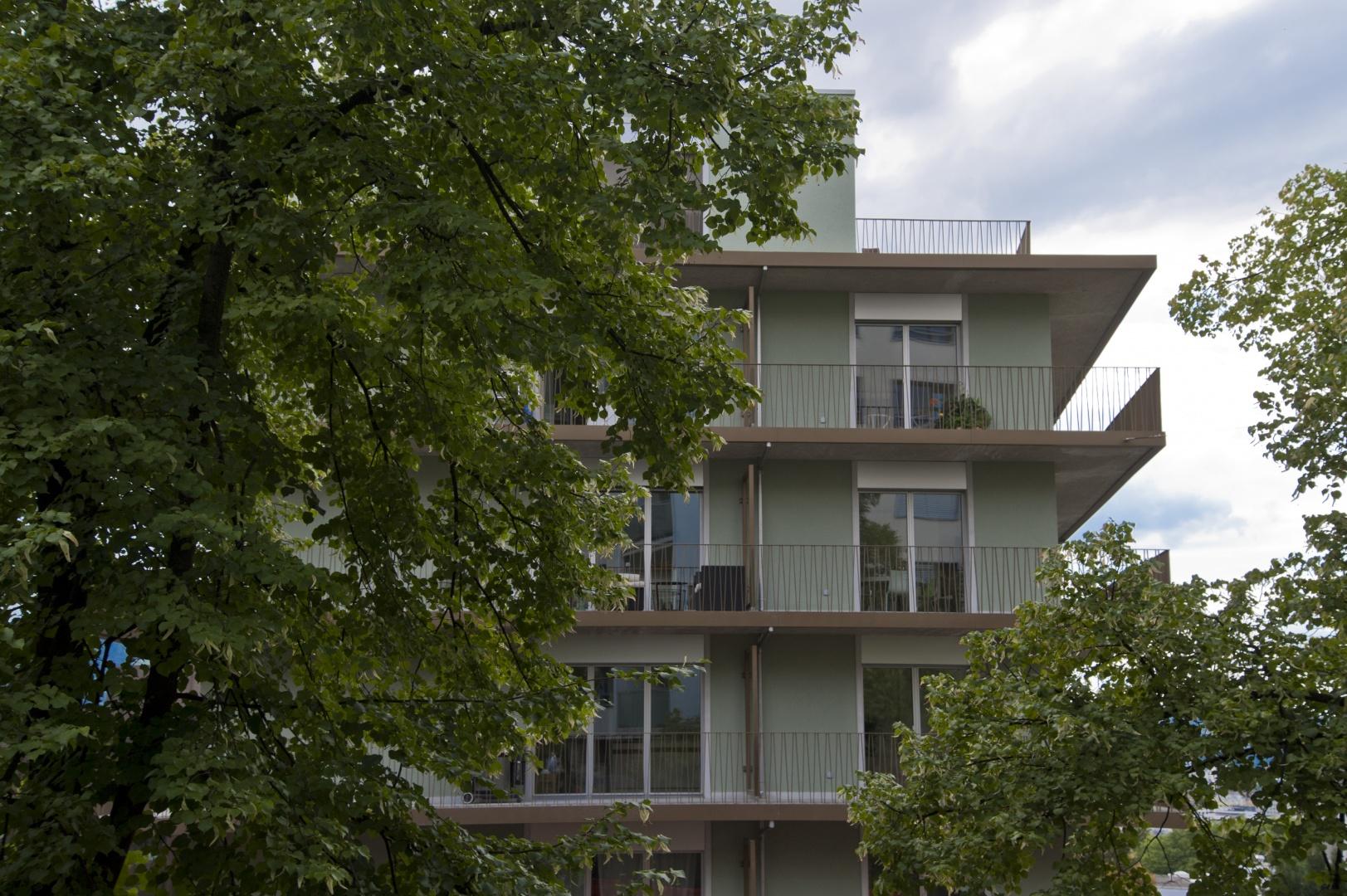 Aussenansicht Nordosten © Juho Nyberg Architektur GmbH