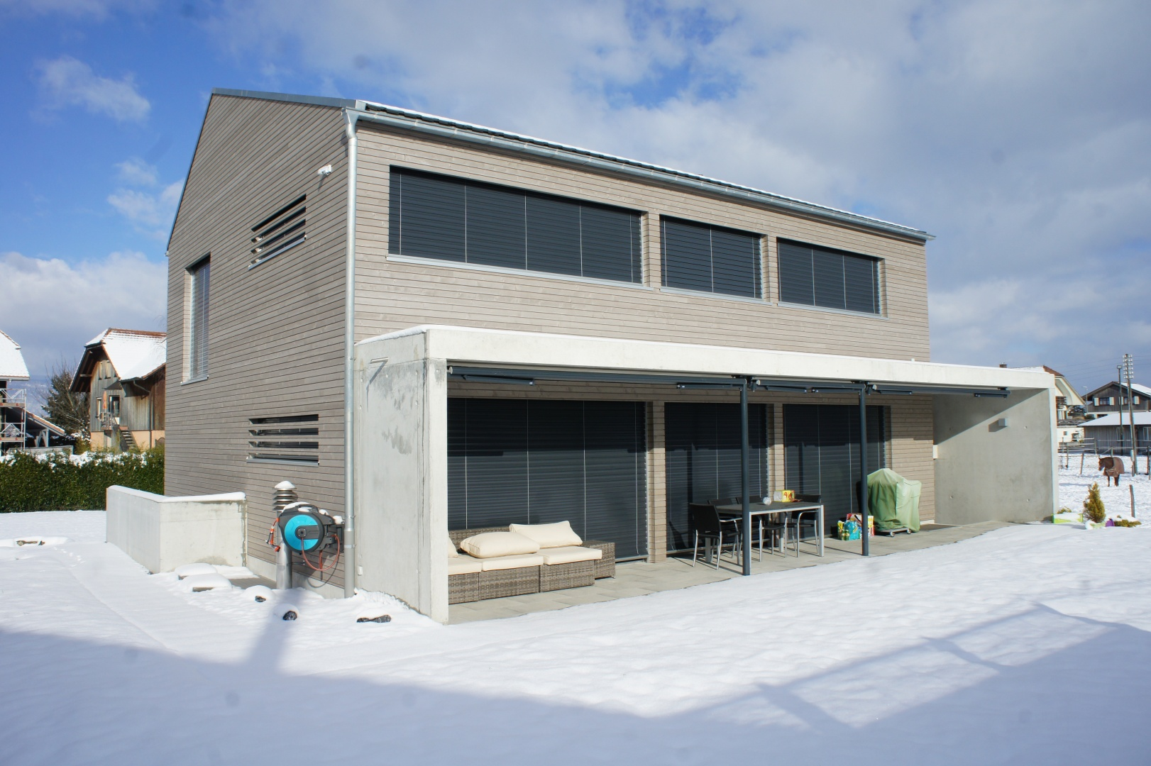Neubau Einfamilienhaus Schweizer Baudokumentation