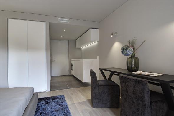 Innenaufnahme UNUS-Einheit / gehobener Ausbaustandard © adan&partner architektur