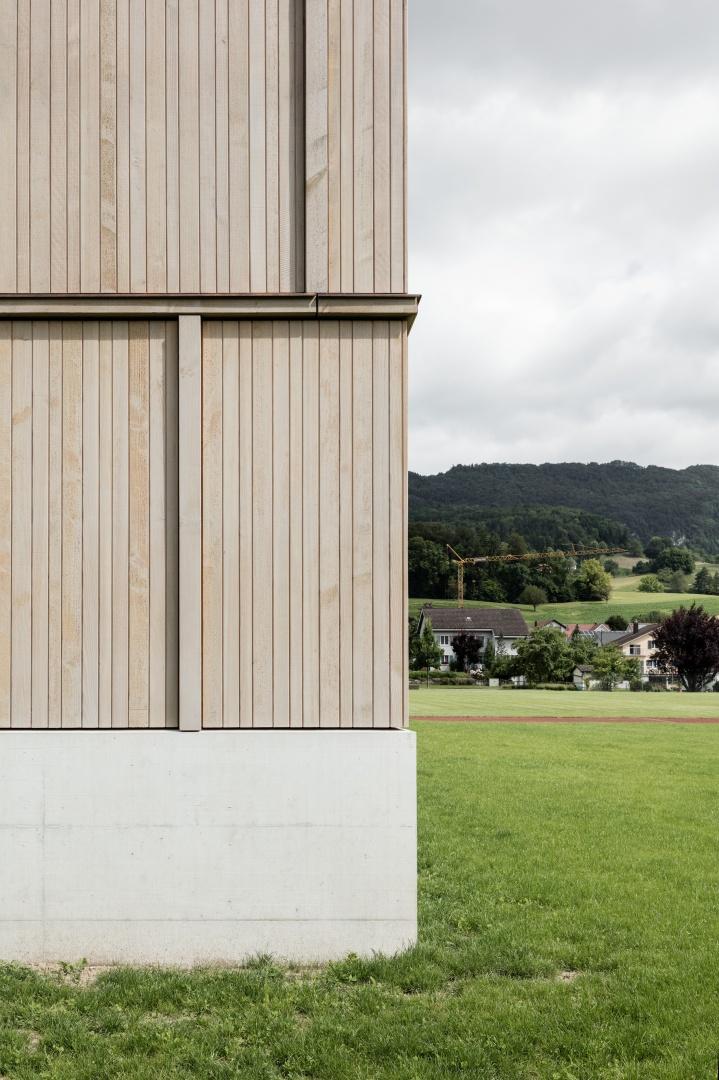 Holzfassade © Beat Bühler