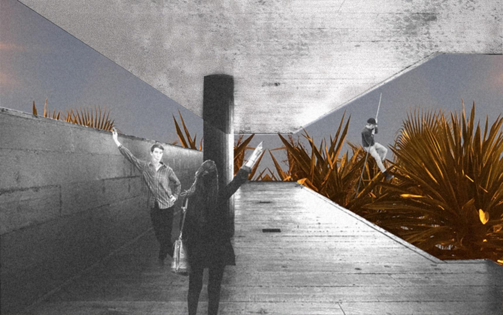 Entwurfscollage 3 © Sascha Dändliker & Francesca Thaler